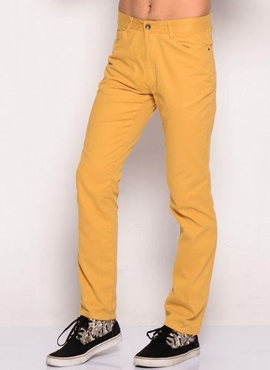 LMN by Limon Company Klasik Pantolon Hardal